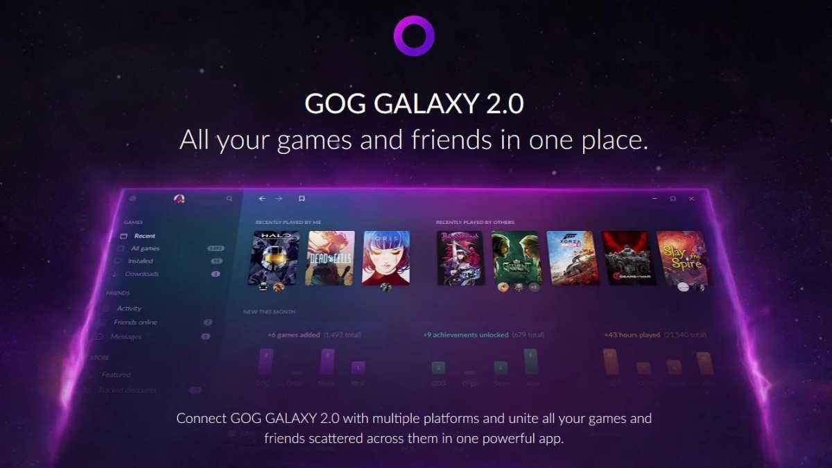 GOG Galaxy 2 0 to partner with Microsoft, Xbox app - News and