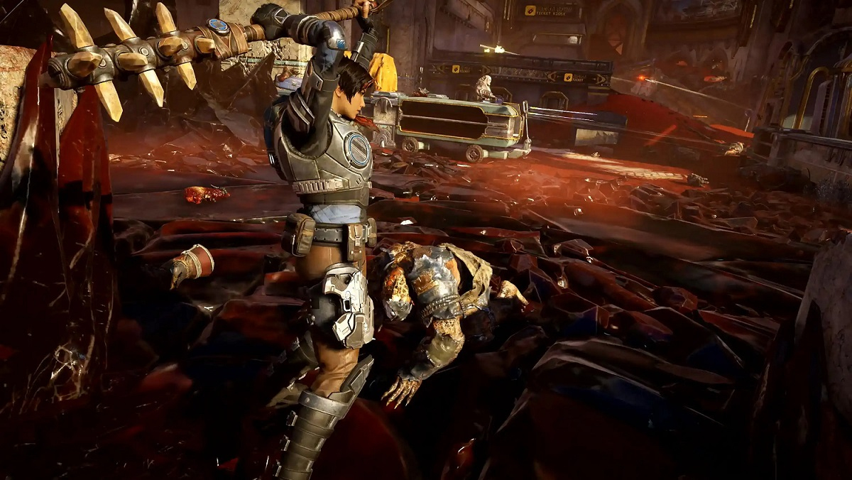 Gears 5 Tech Test preload is now available through the