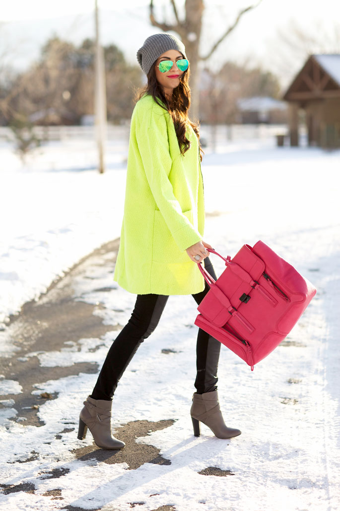 neon-green-coat-zara