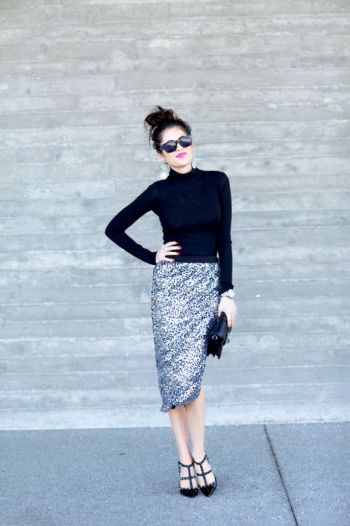 silver-sequin-skirt