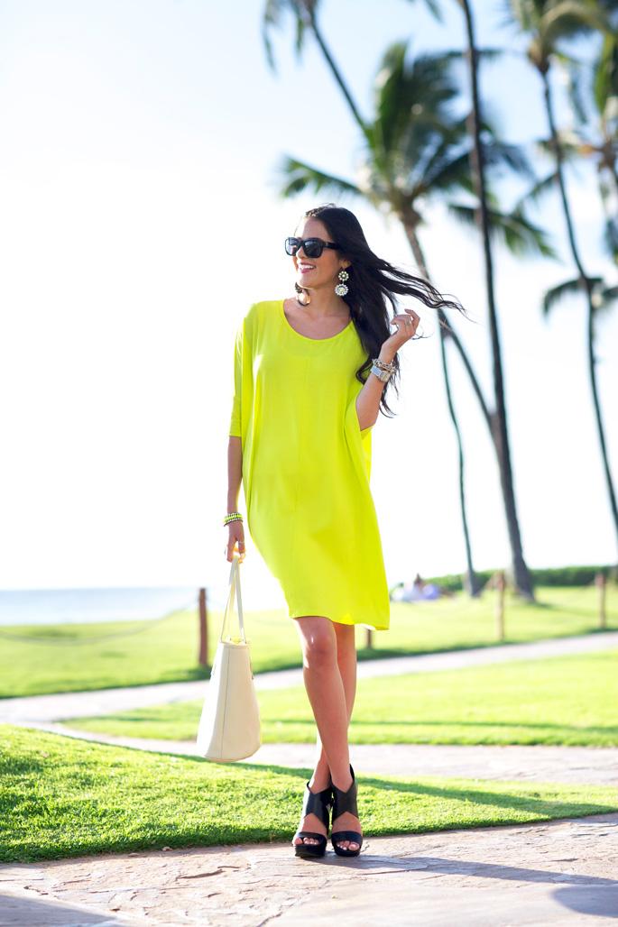 asos-neon-green-dress