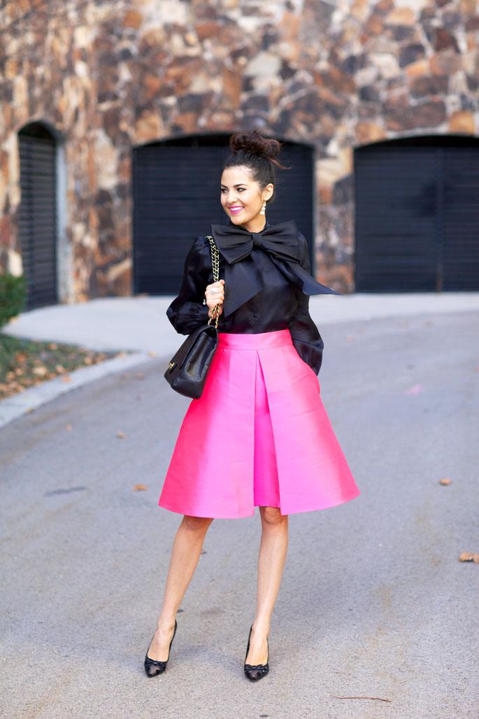 pink-kate-spade-full-skirt