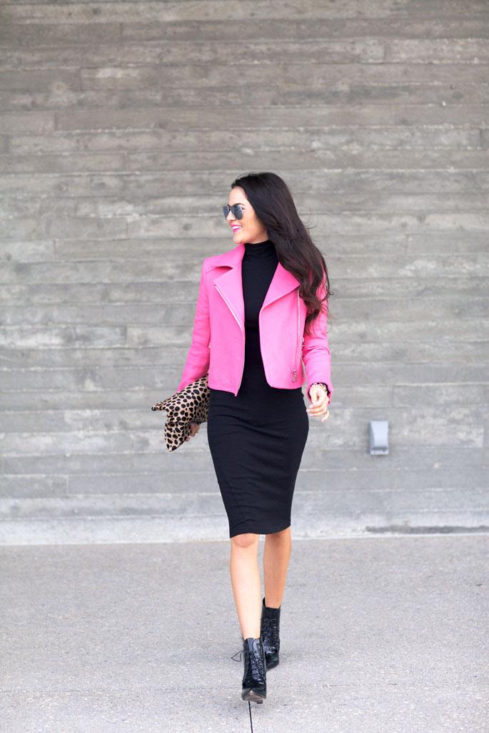 black-asos-turtle-neck-dress