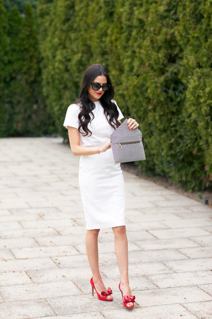 white-knee-length-dress-spring