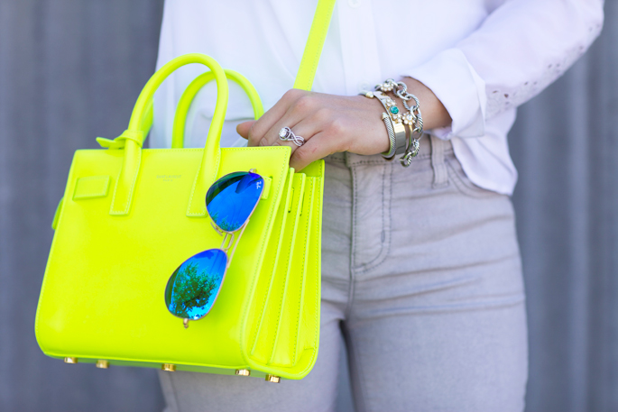 neon-yellow-saint-laurent-bag