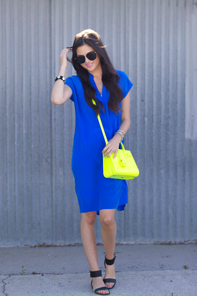 cobalt-blue-summer-dress