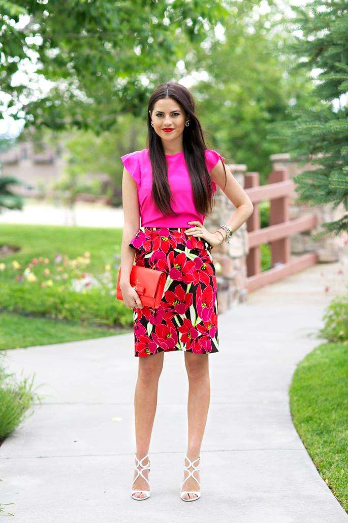 kate-spade-hot-pink-blouse