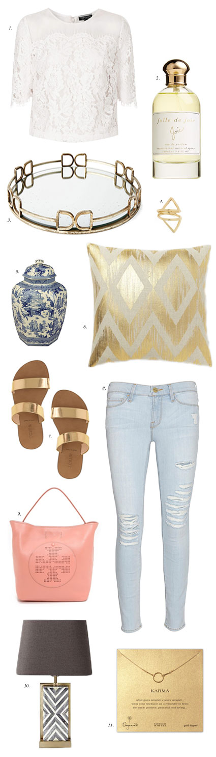 summer-outfit-and-home-inspiration-gold-metallic