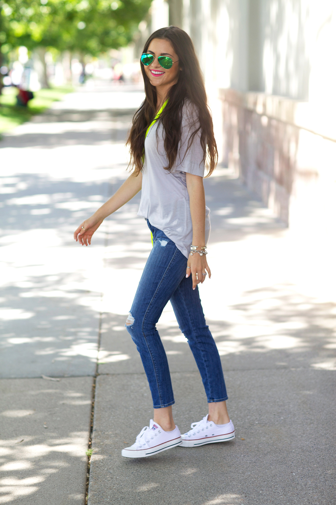 current-elliott-distressed-skinny-jeans