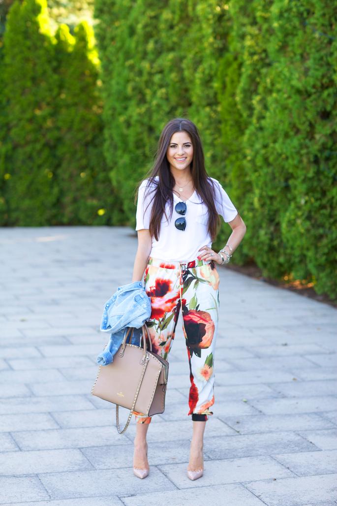 haute-hippie-floral-track-pants