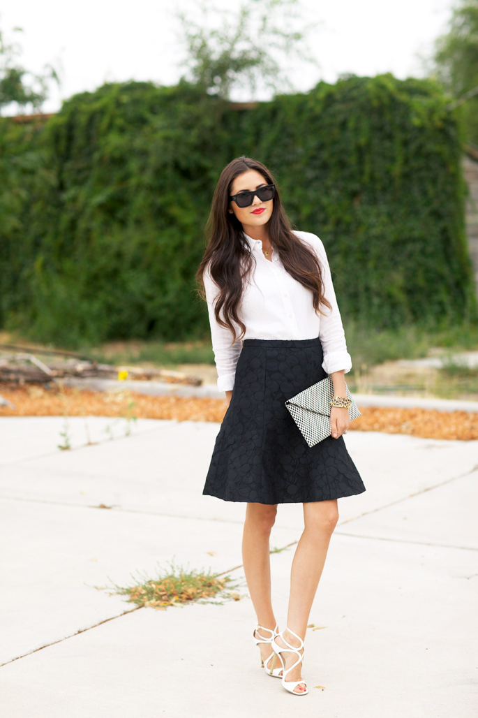 black-and-white-work-outfit-idea