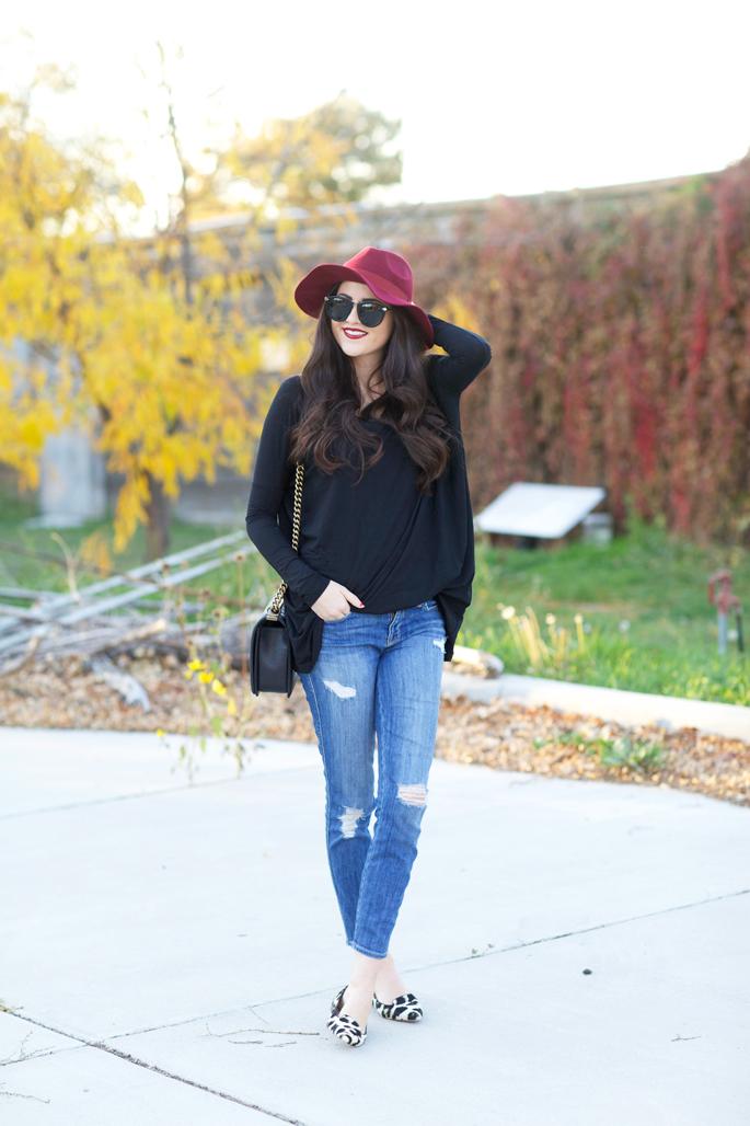 distressed-current-elliott-skinny-jeans