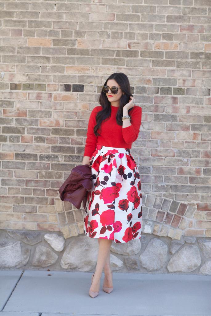 floral-full-midi-skirt