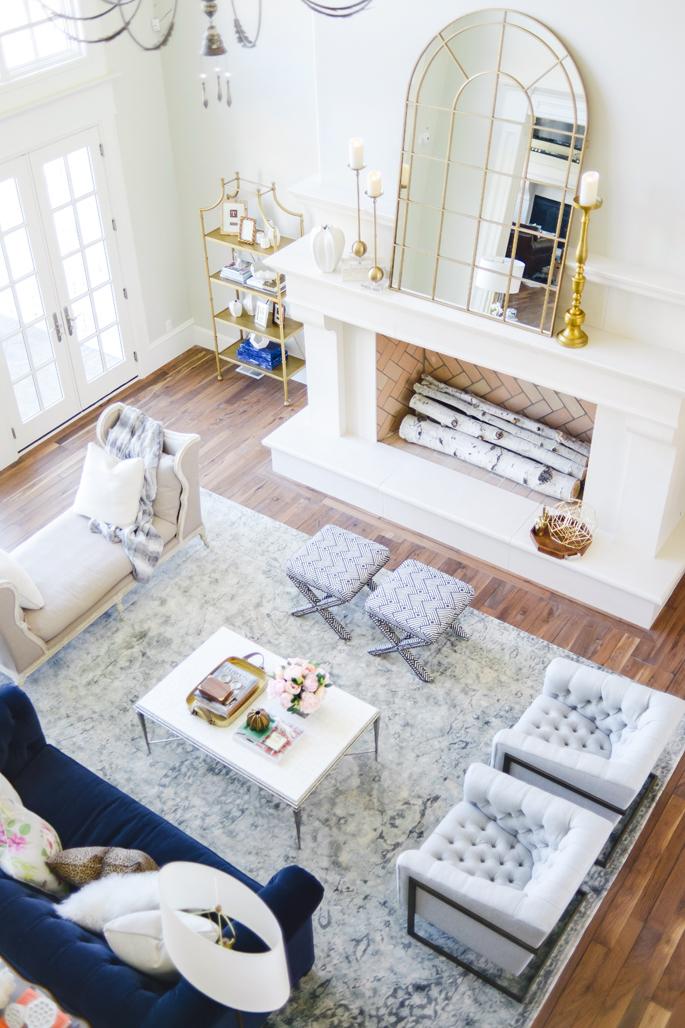 Living Room Home Elle Decor