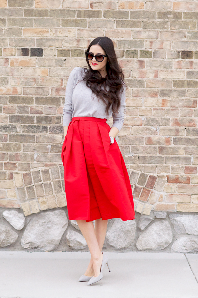 red-holiday-midi-skirt