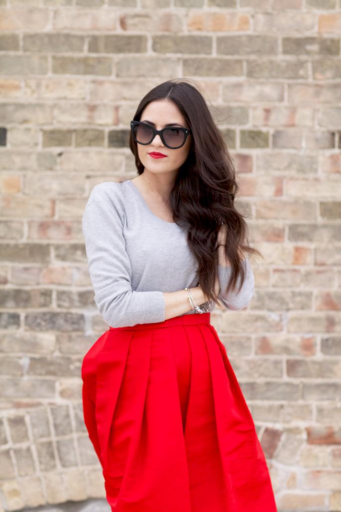 red-tibi-midi-skirt