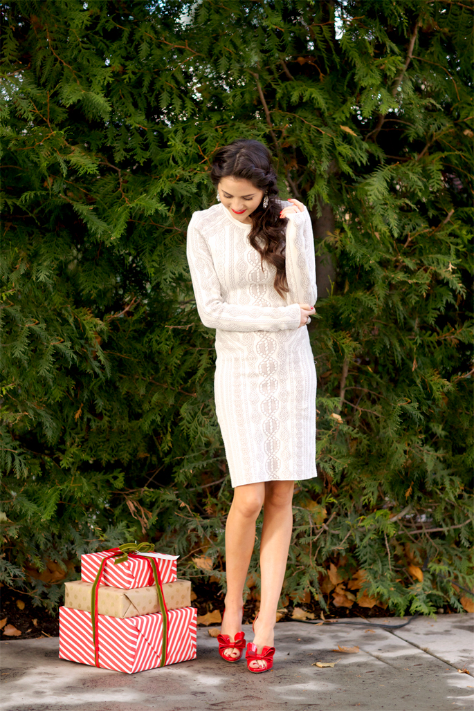 white-holiday-frock-party-dress