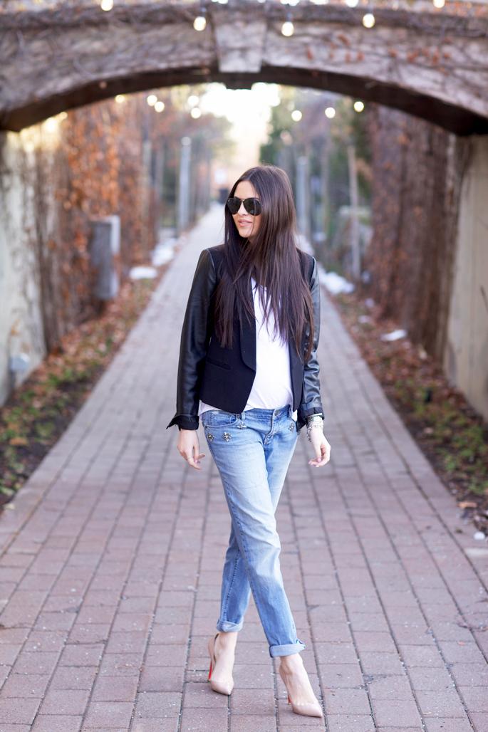 black-blazer-leather-sleeves-nordstrom