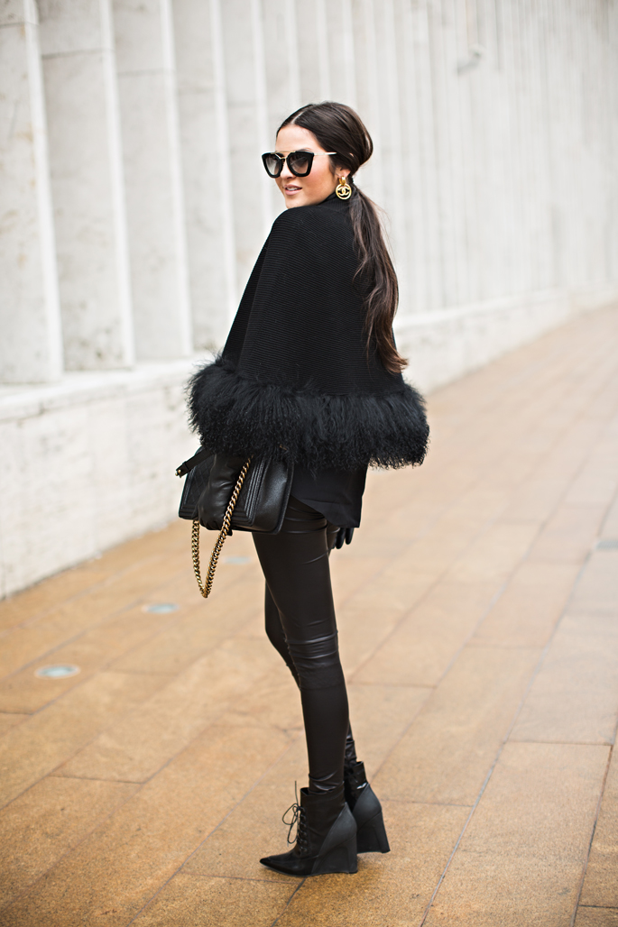 nanette-lepore-black-fur-cape