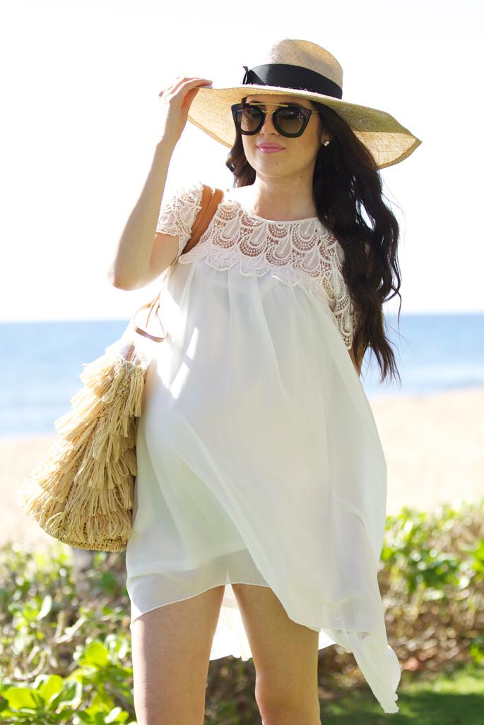 white-lace-beach-dress