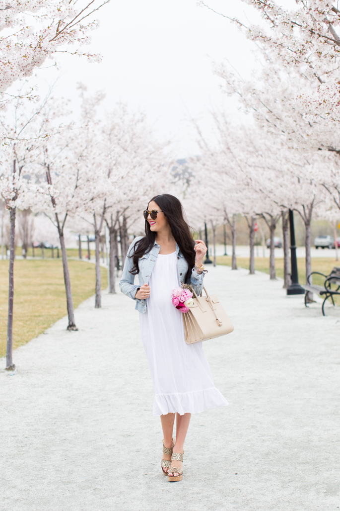 white-maternity-spring-time-dress
