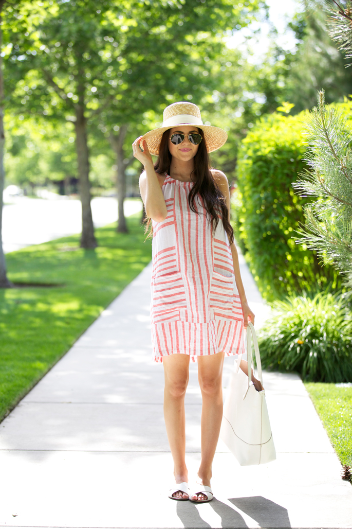 red-old-navy-summer-dress