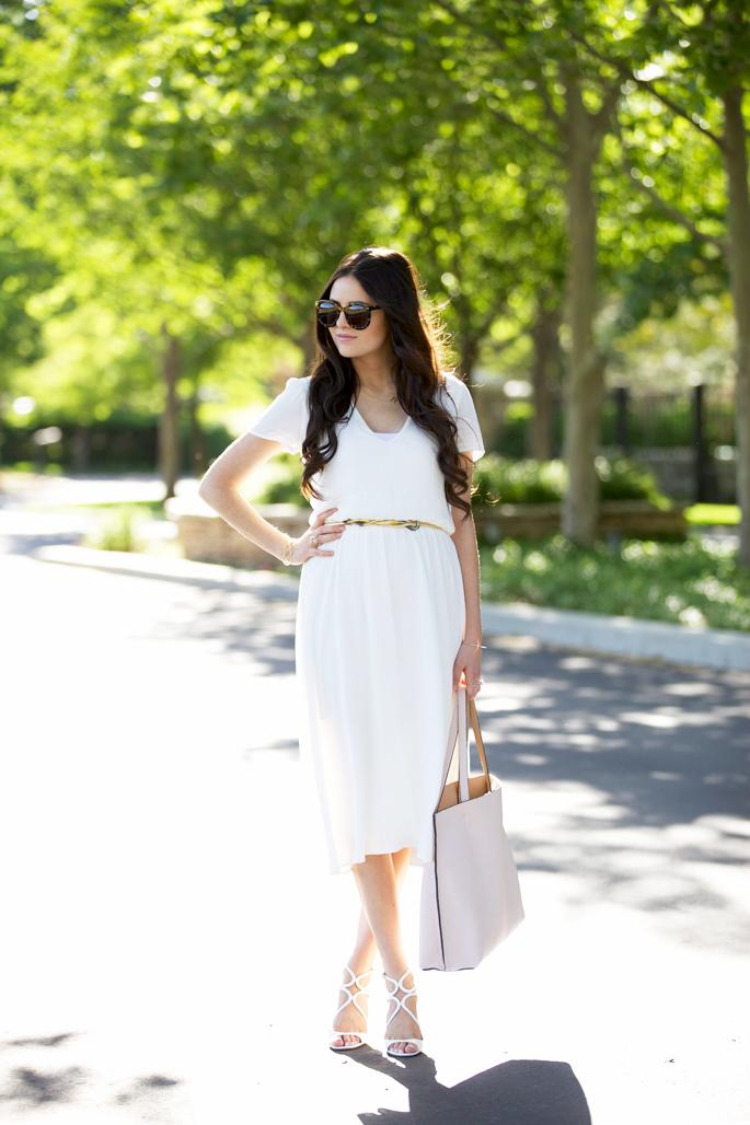 white-nordstrom-wayf-midi-dress