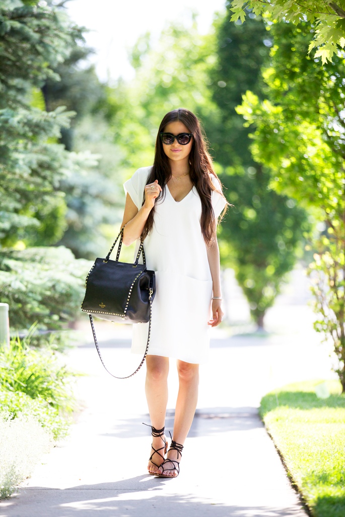 white-vince-shift-dress-nordstrom