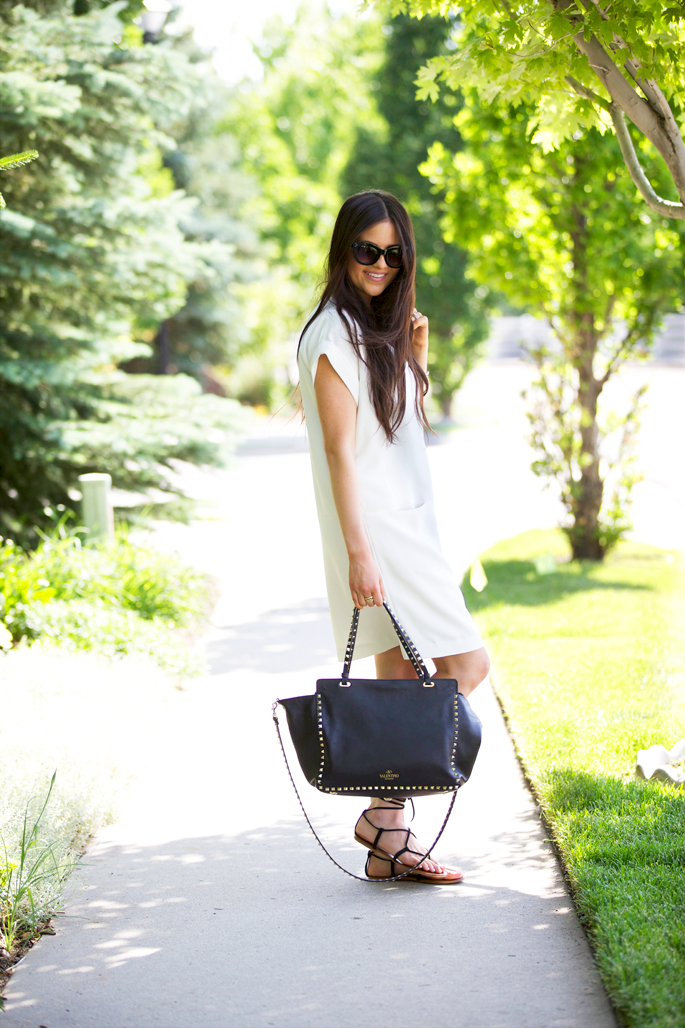 white-vince-shift-dress