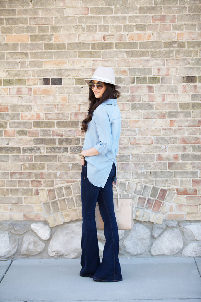 how-to-wear-chambray-top