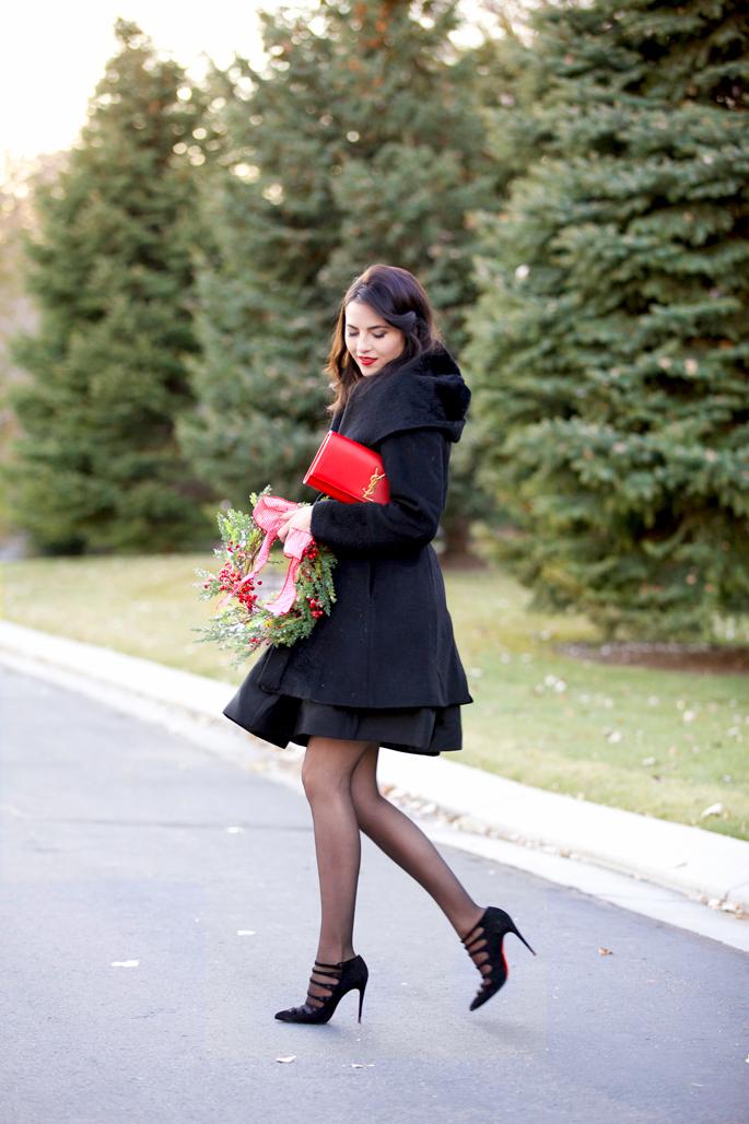 black-halston-heritage-dress