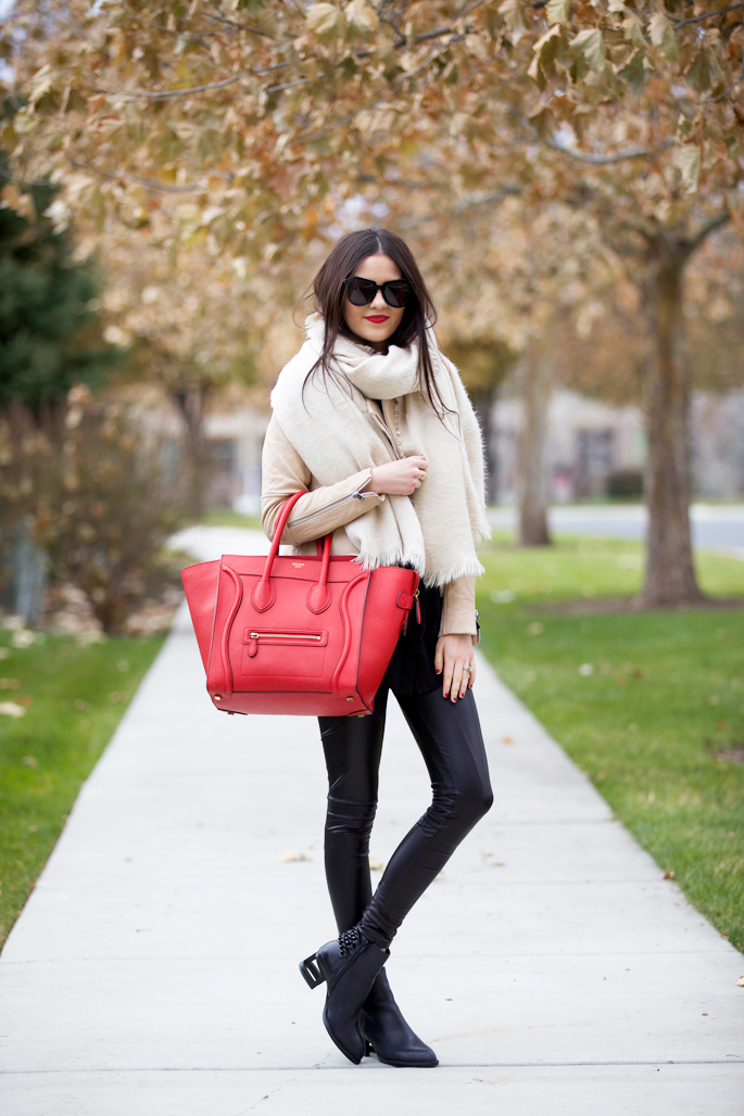 red-celine-mini-luggage-tote-handbag