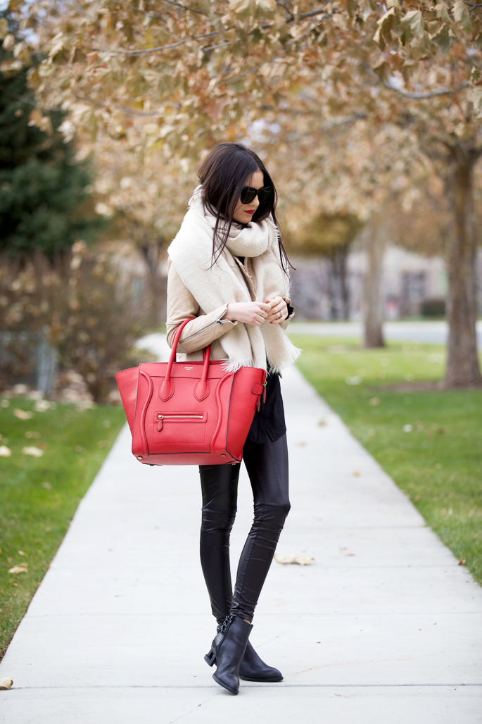 red-celine-mini-luggage-tote