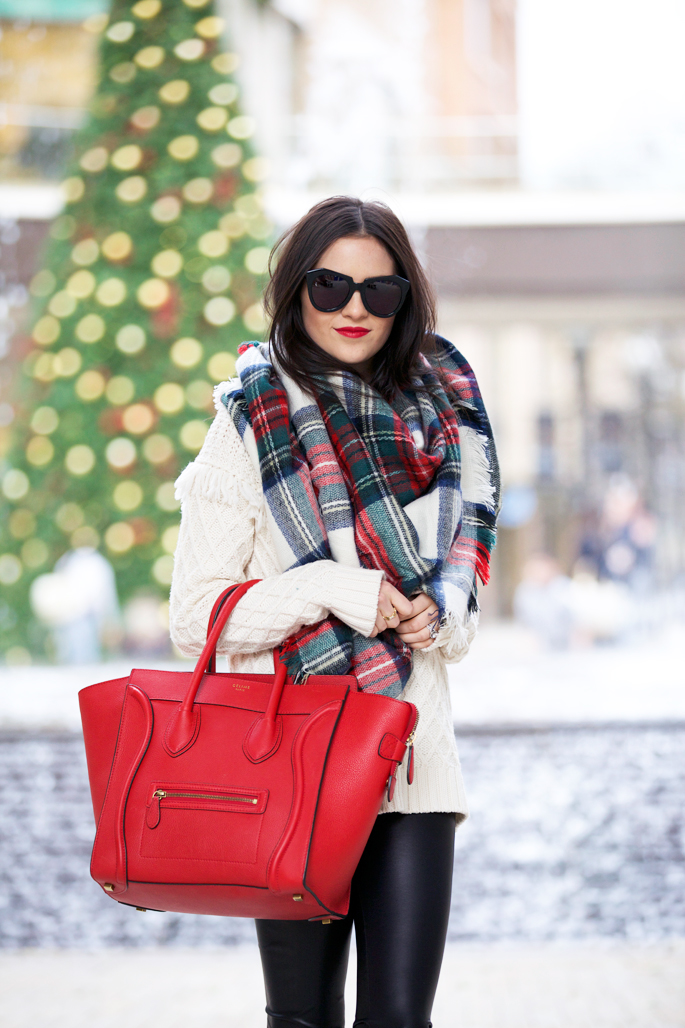 tartan-print-scarf-christmas