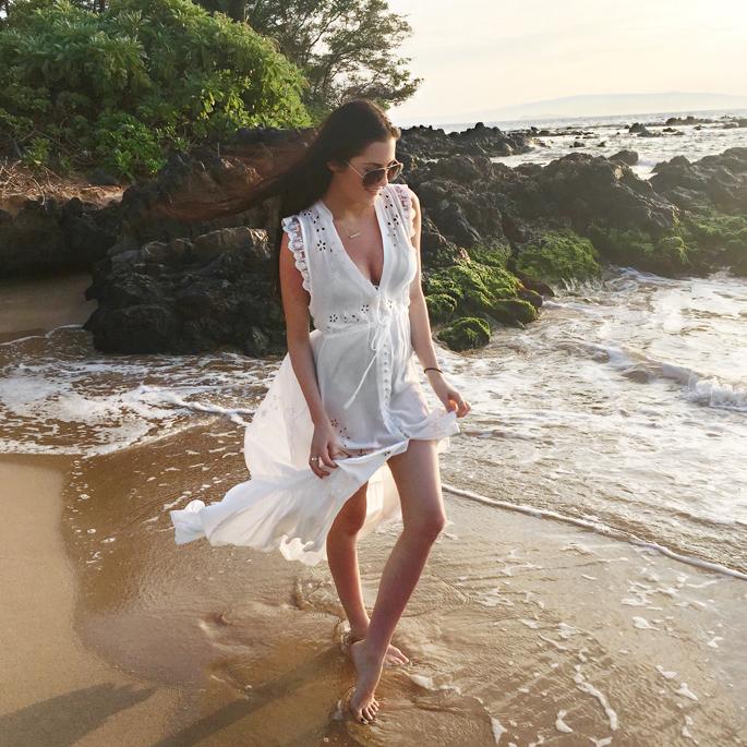 white-beach-dress-hawaii