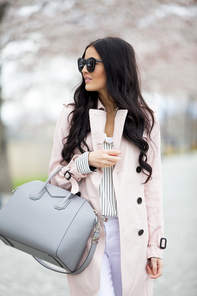 coach-pink-trench-coat