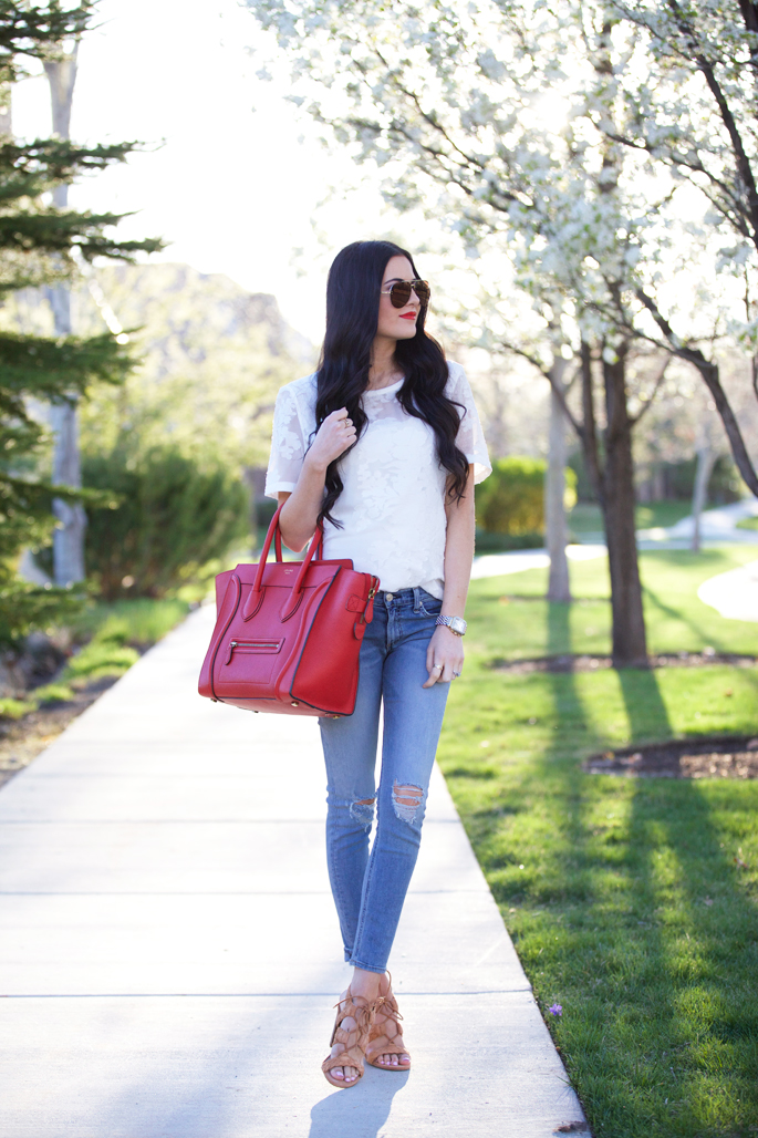red-celine-mini-luggage-tote