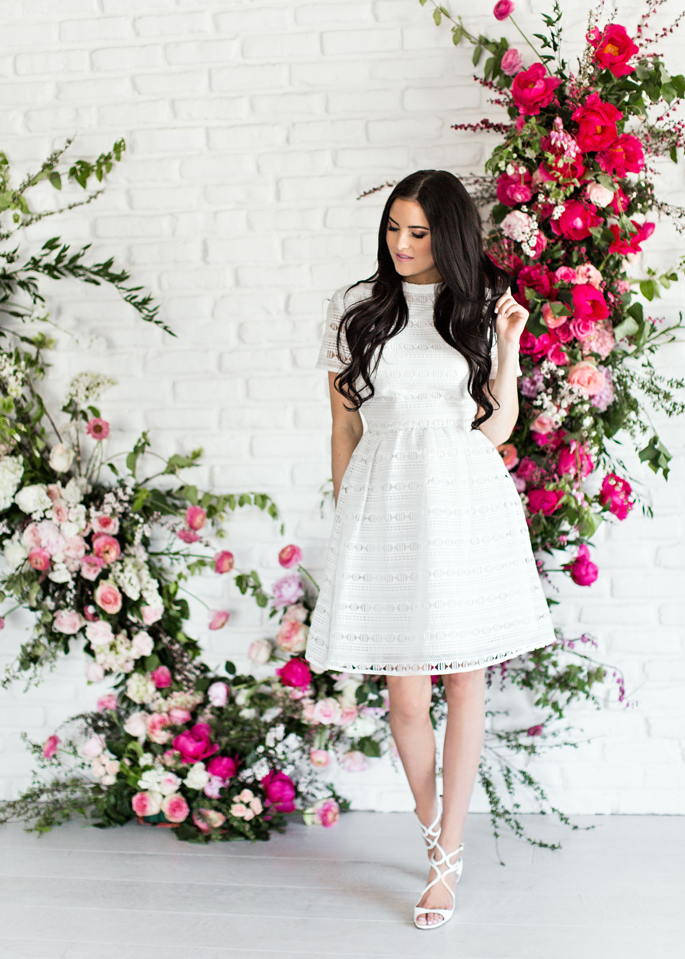 white-dress-pink-peonies-clothing-line