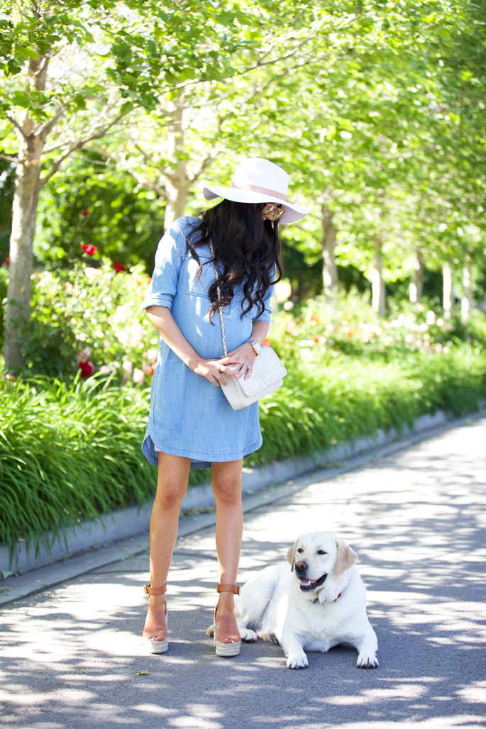 casual-summer-chambray-dress