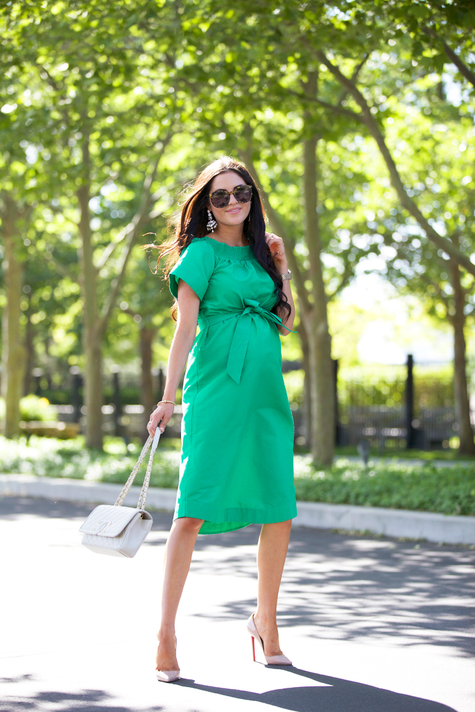 jcrew-green-midi-dress
