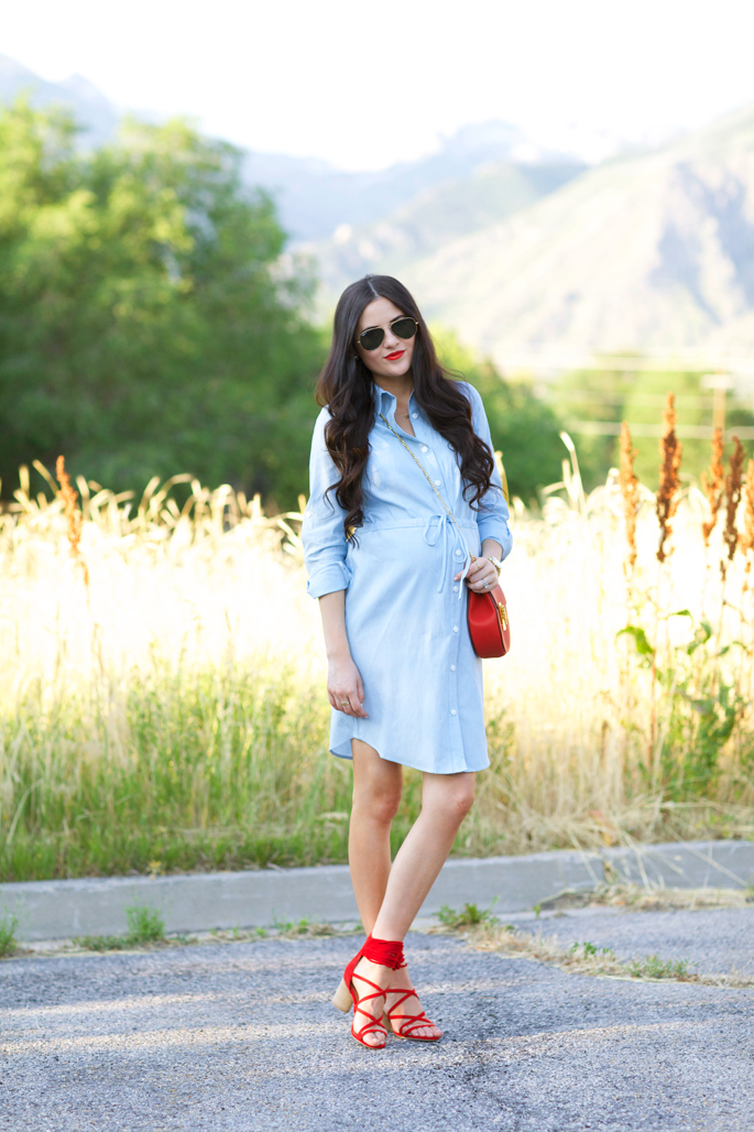 rachel-parcell-chambray-dress-2