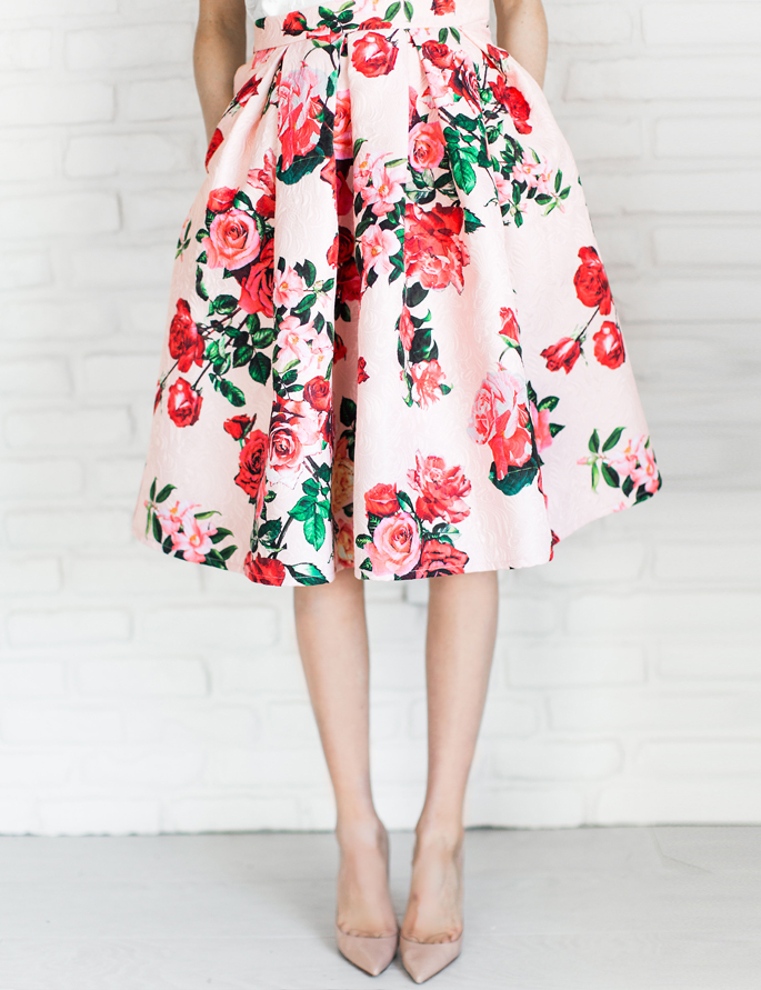rachel-parcell-floral-skirt-1