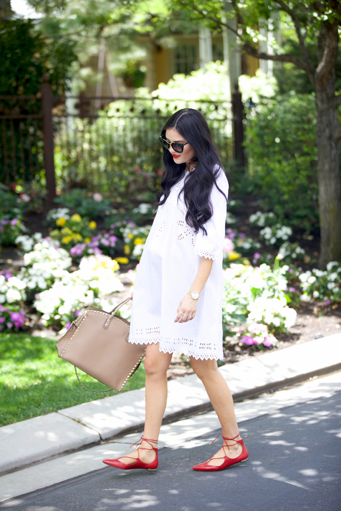 white-summer-dress