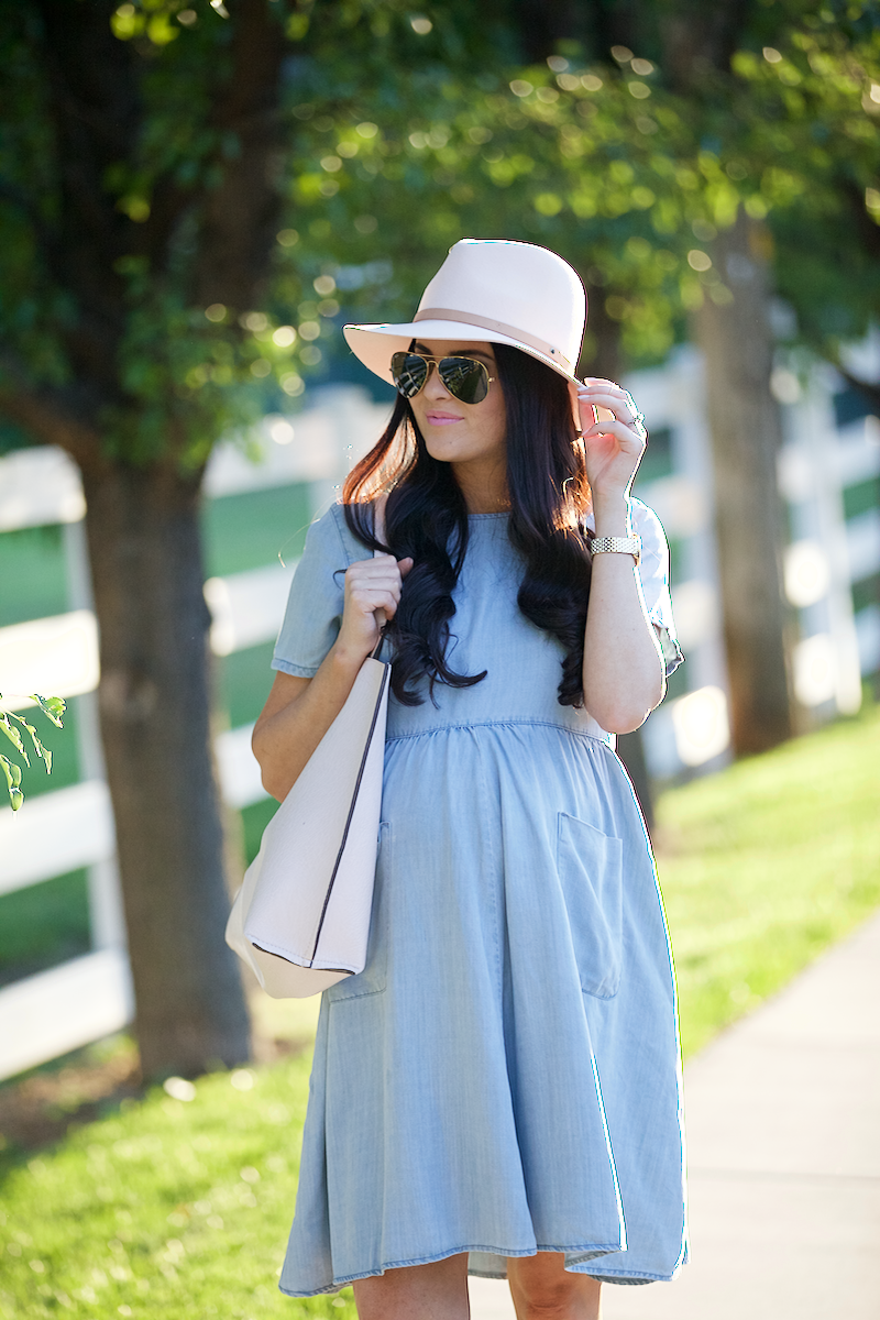 chambray-summer-dress - 1