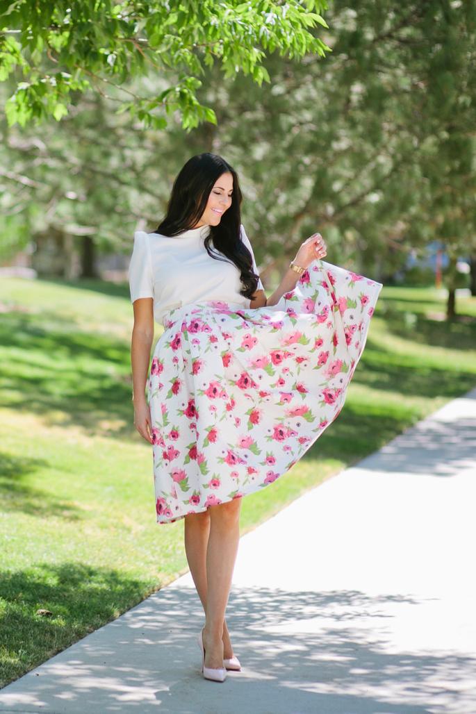 floral-a-line-skirt-rachel-parcell - 2