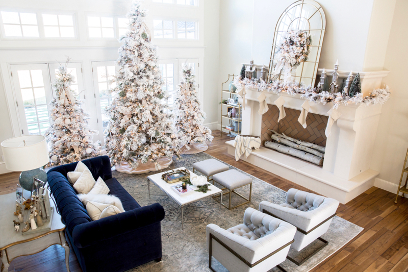 christmas-home-decor-flocked-tree-white-6