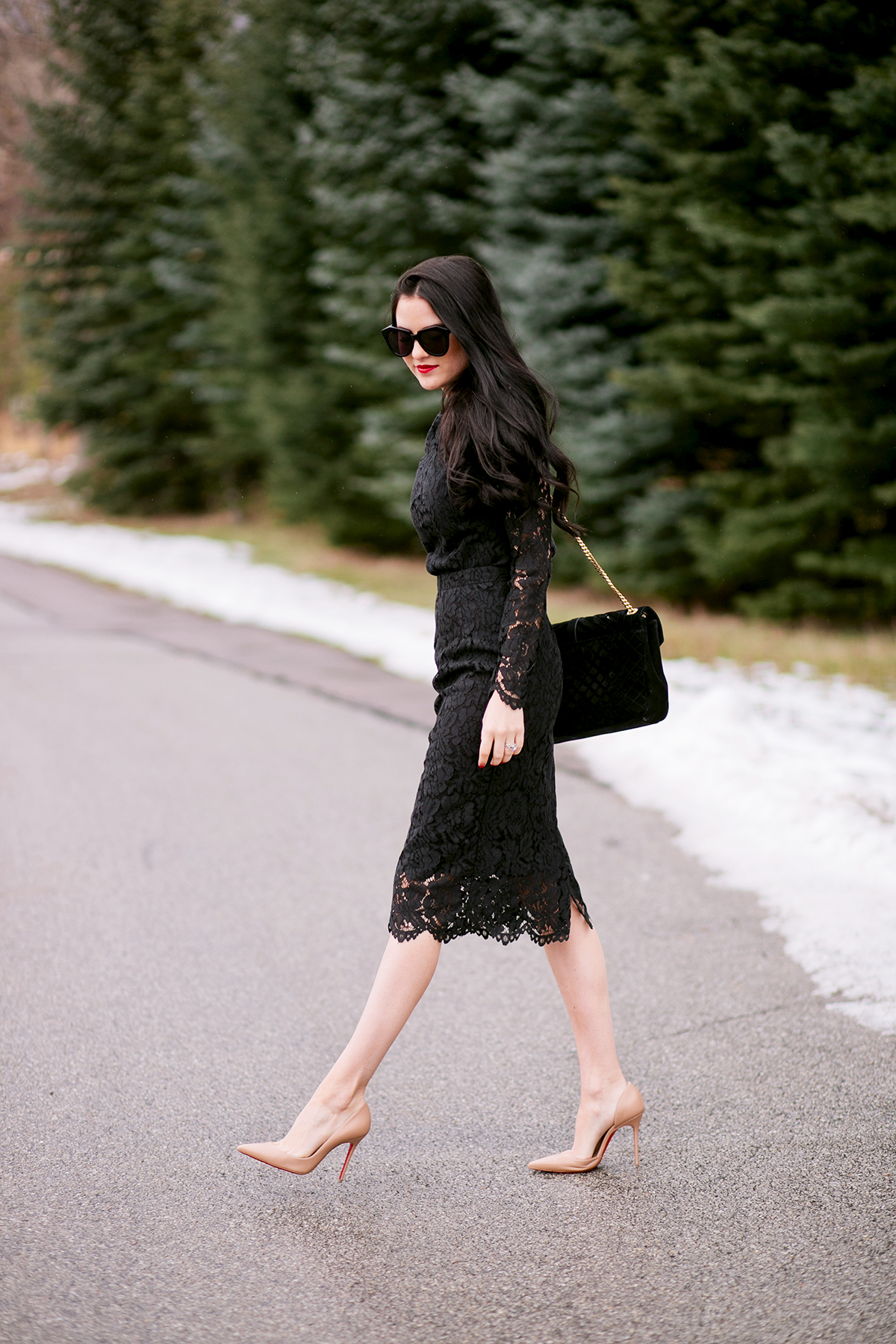 black-lace-skirt-and-top