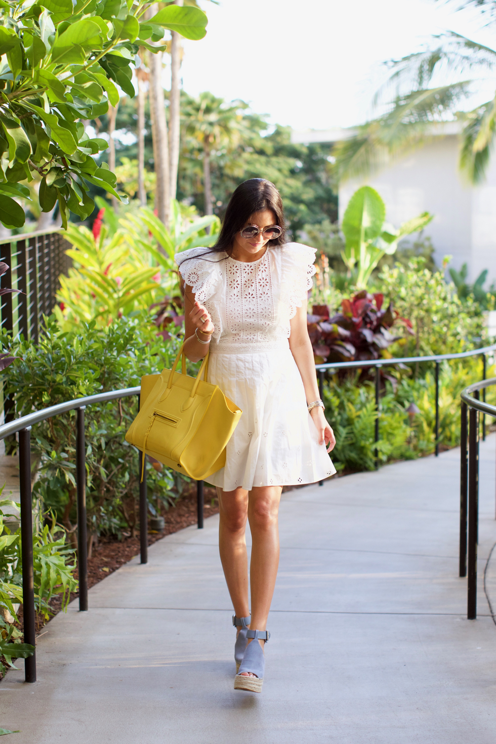 white-eyelet-sea-dress - 2