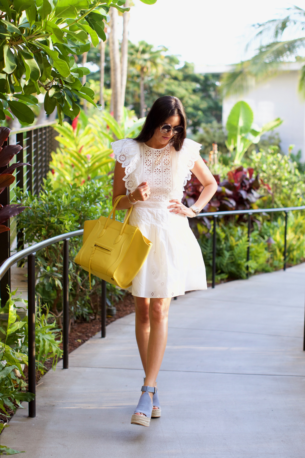 white-eyelet-sea-dress - 3