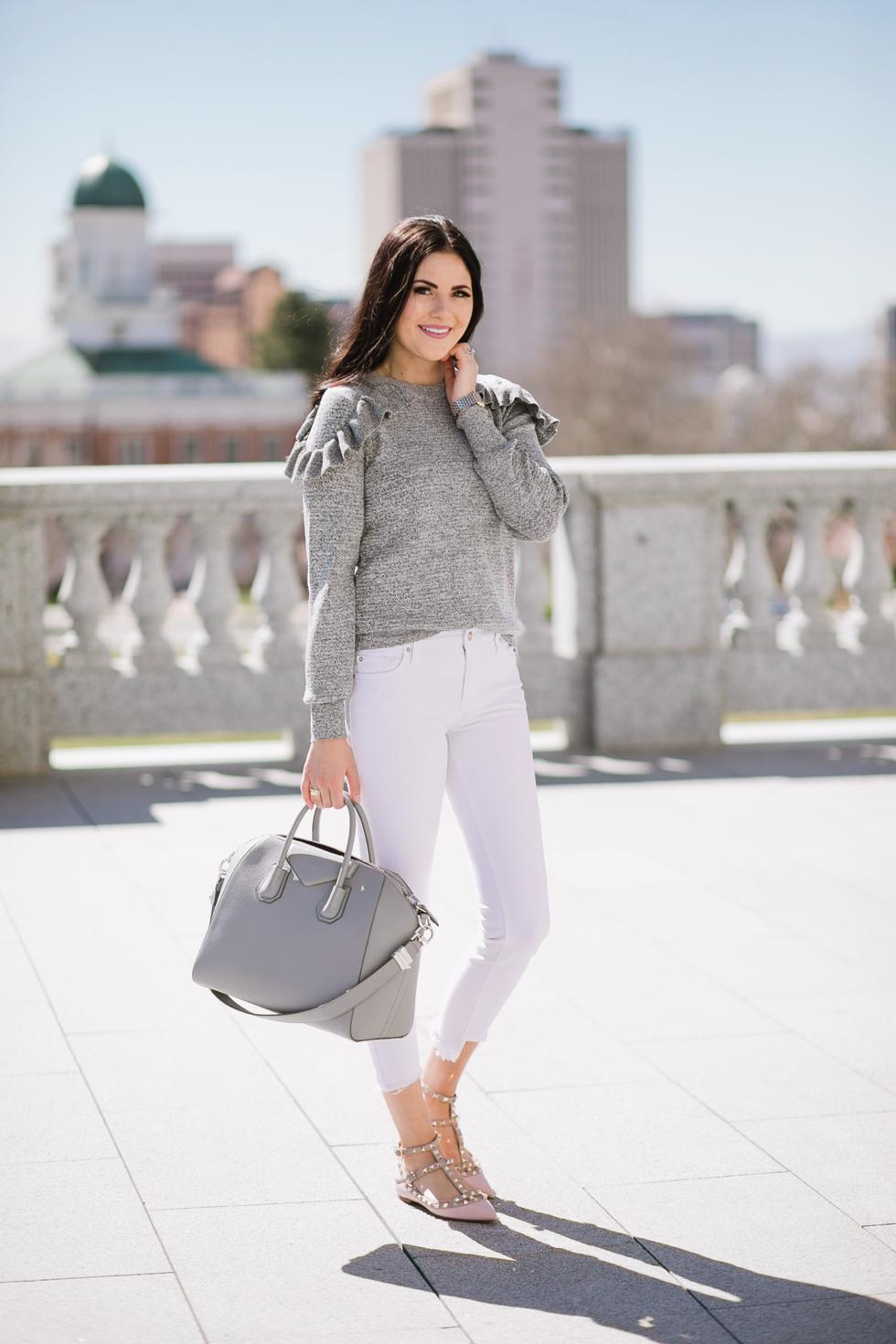 grey-topshop-ruffle-sweater - 7